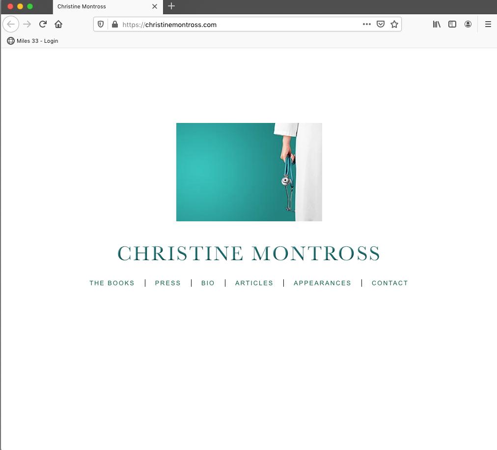 Christine Montross