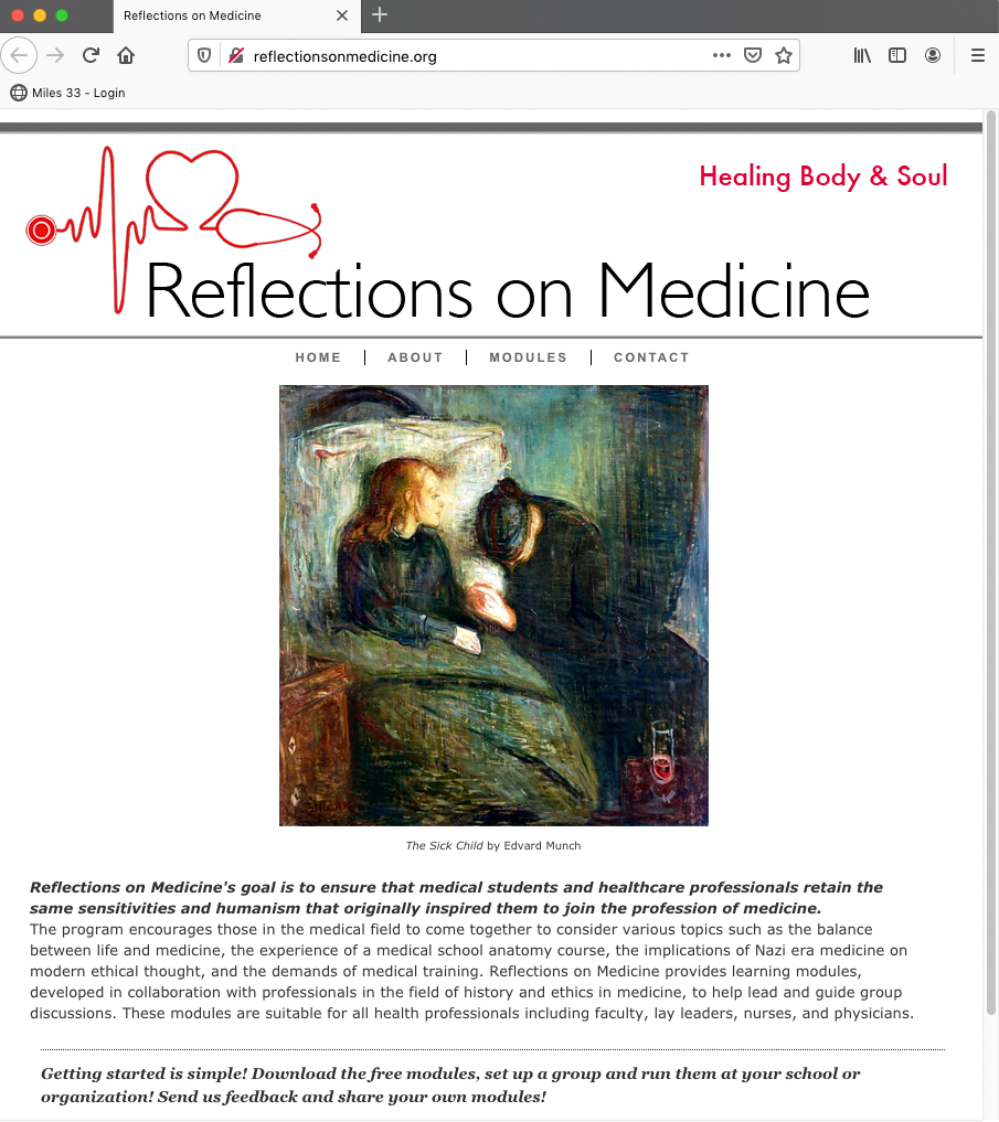 Reflections on Medicine