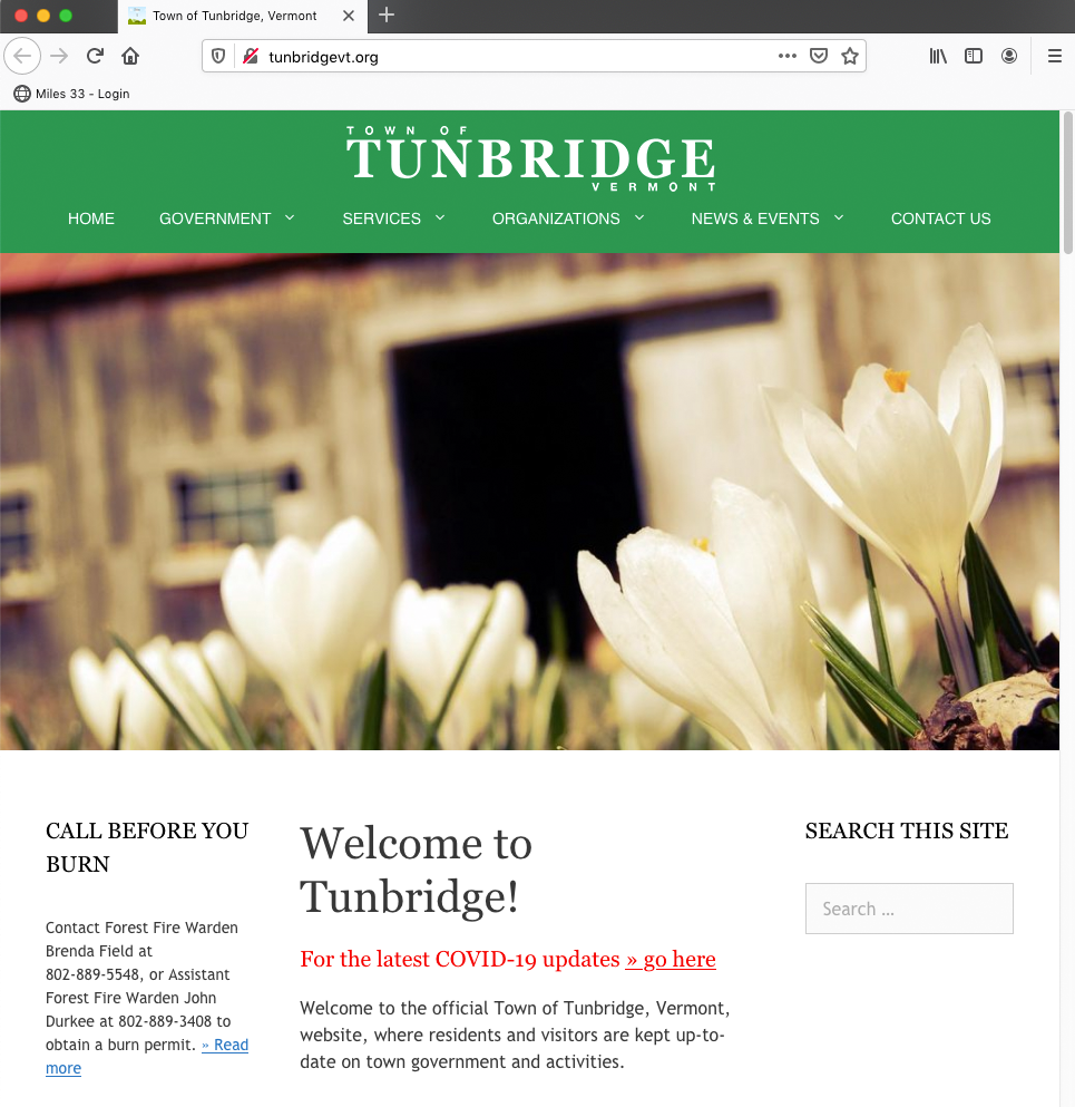 Town of Tunbridge