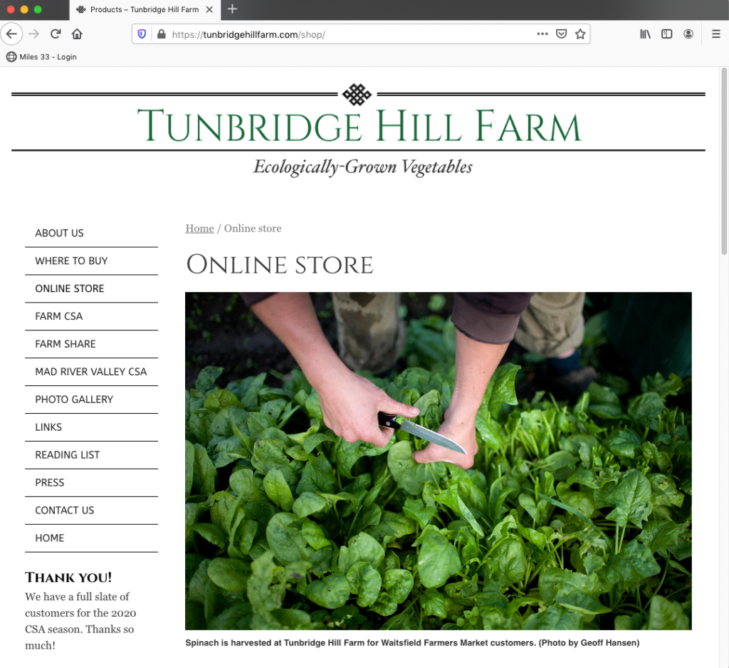 Tunbridge Hill Farm