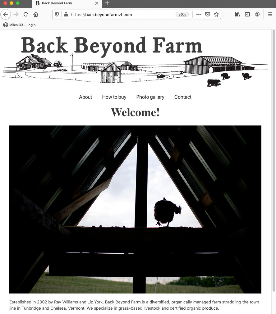 Back Beyond Farm