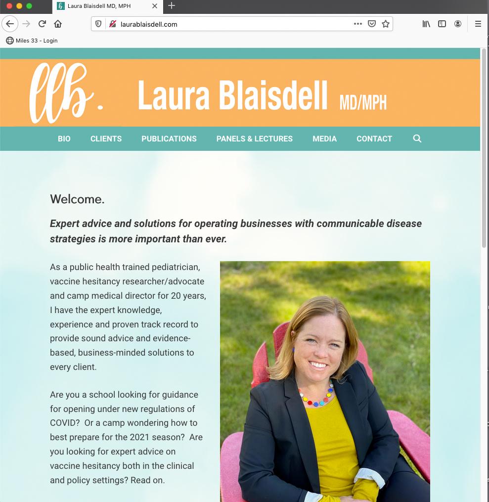 Laura Blaisdell MD/MPH